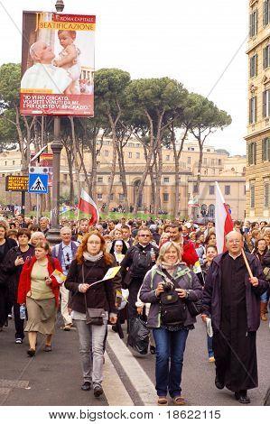 beatification of Pope John Paul II in Rome