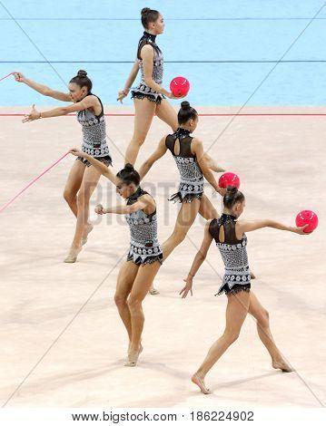 Team Bulgaria Rhythmic Gymnastics