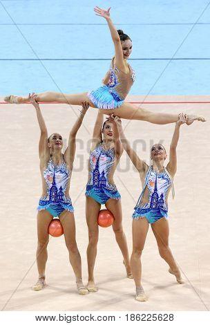 Team Russia Rhythmic Gymnastics