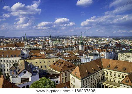 City of Brno in Czech Republic in Europe