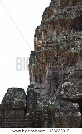 A tower in Preah Khan Temple Cambodia.