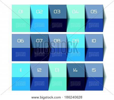 Table template. Schedule table. 3D table. Business table. Brochure table schedule. Minimalistic table. Step by step.