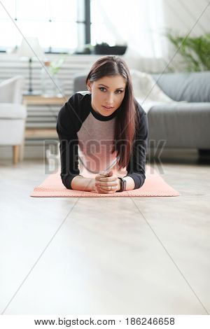 Sport & lifestyle. Fitness at home