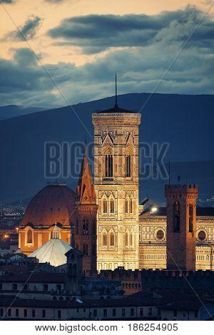 Duomo Santa Maria Del Fiore in Florence Italy.