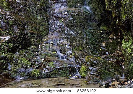 Waterfall Picton New Zealand