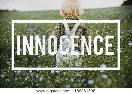 Innocence Adorable Playful Curiousty Pure Word