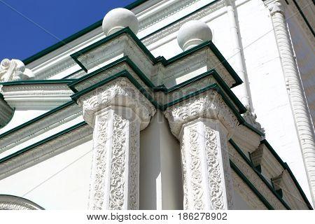 Details Of White Orthodox Church