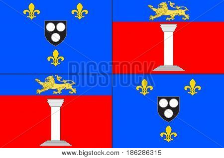 Flag of Antony is a subprefecture of the Hauts-de-Seine department and the seat of the arrondissement of Antony France.