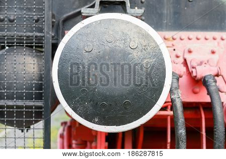 Old Locomotion Coupler Close-up
