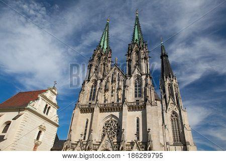 Cathedral of Saint Wenceslas Olomouc Czech Republic / Czechia Central Europe