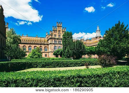Chernivtsi National University - Yuriy Fedkovych Chernivtsi National University is the leading Ukrainian institution. Yuriy Fedkovych Chernivtsi National University. Chernovtsi Europe. June 28.2015 Chernivtsi. Ukrainian