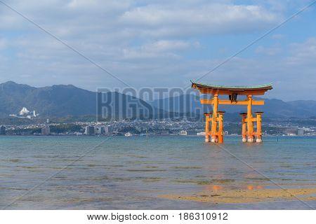 Itsukushima Shrine in Miyajima in Japan