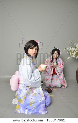 Tea Ceremony In Japan