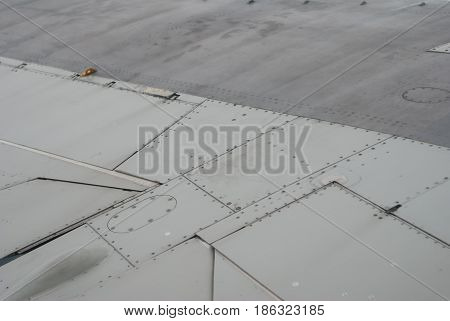 The Skin Of The Aircraft Close To,