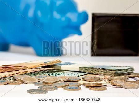 Euro Money. euro cash background. Euro Money Banknotes