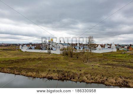 View Of Pokrovsky Monastery, Suzdal, Russia