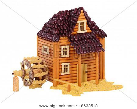 Watermill Made From Food