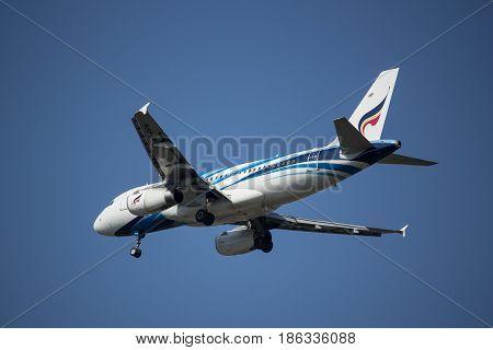 Hs-ppn A319-100 Of Bangkok Airway.