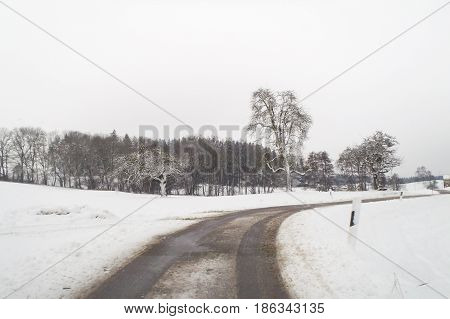 Campaign Snowy Baden Wurttemberg