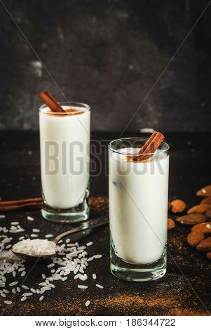 Traditional Mexican Drink Horchata