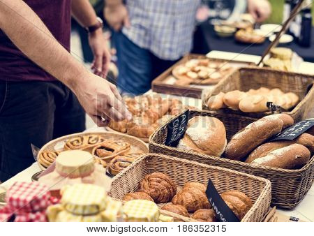 Pastry shop bakehouse gourmet fresh from oven product