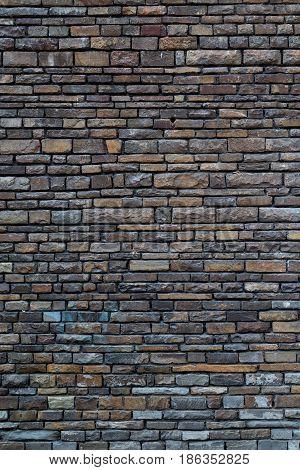 brick wall texture modern grey surface of masonry.