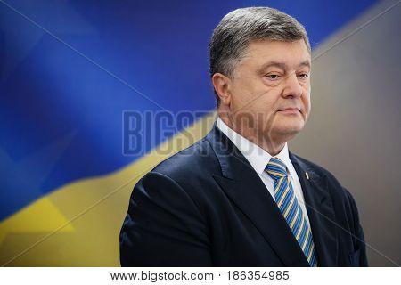 Press Conference Of President Of Ukraine Petro Poroshenko