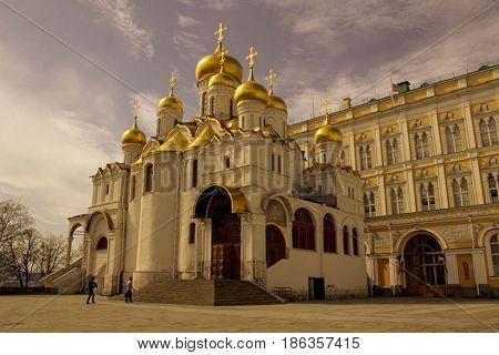 Cathedral of the Annunciation in Kremlin, Moscow