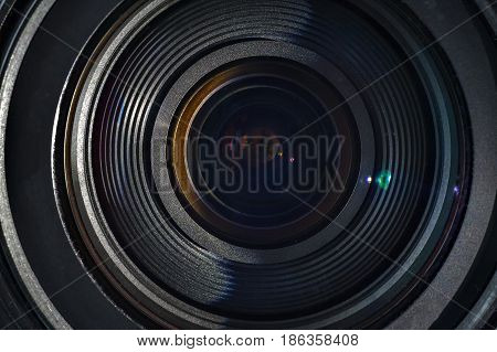 The Lens Of A Camera