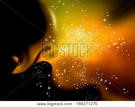 Sparkle lights - abstract elegant background