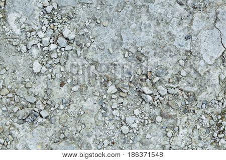 Closeup image of grey stone texture background