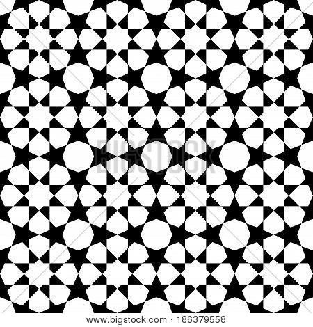Geometric Arabic Seamless Pattern.