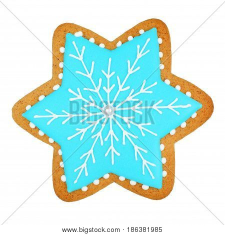 Snowflake Man Isolated