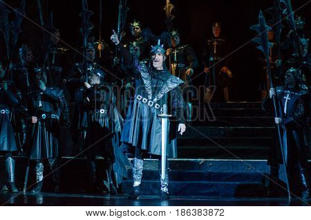 Classical Opera Troubadour