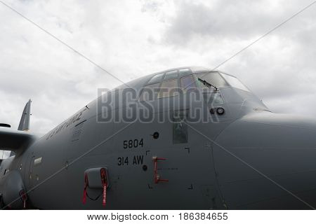 Usaf C-117A Globemaster On Display