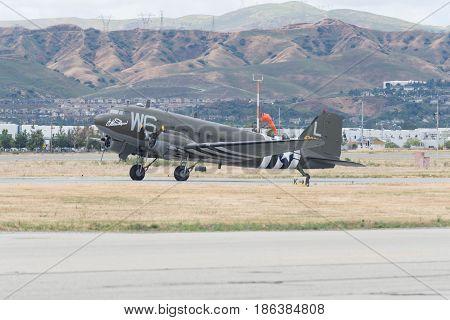 Douglas C-47B Dakota Willa Dean On Display