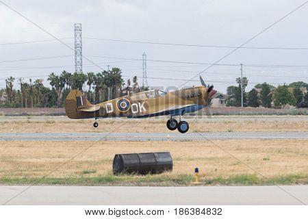 Supermarine Spitfire On Display