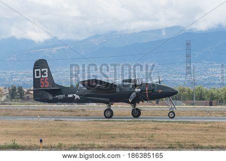 Grumman F7F Tigercat On Display