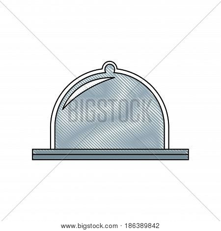 dome protection, equipment factory industrial vector illustration