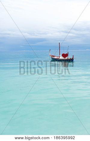 Love Boat In The Ocean