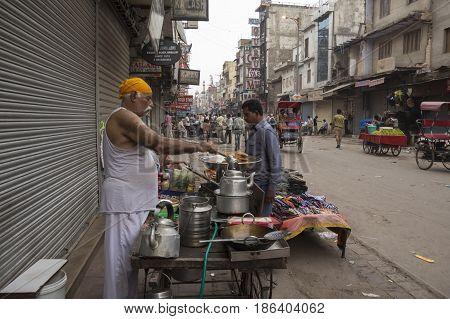 Morning Tea Stall