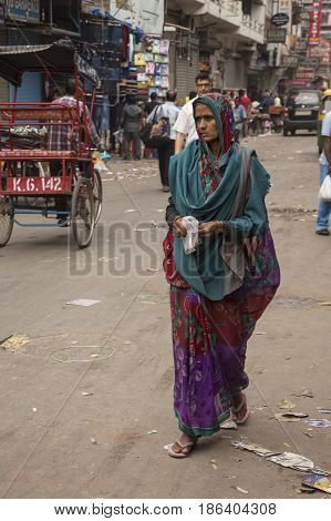 Tradition India Woman