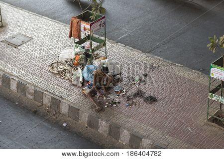 Homeless Man Job