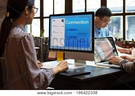 Communication Connection Message Networking