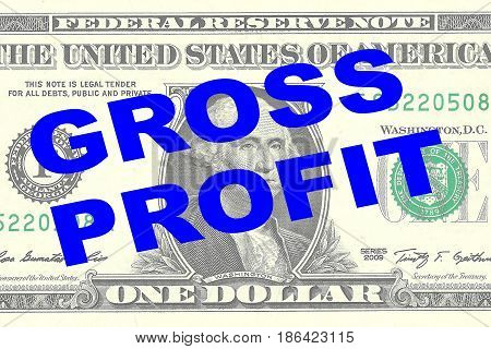 Gross Profit - Financial Concept