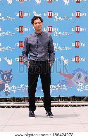 Giffoni Valle Piana Sa Italy - July 17 2016 : Alessandro Tersigni at Giffoni Film Festival 2016 - on July 17 2016 in Giffoni Valle Piana Italy