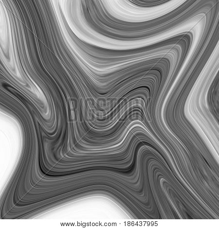 Abstract marble texture background.Handmade technique. black and white