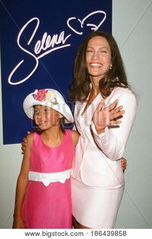 LOS ANGELES - JUN 19:  Becky Lee Meza, Jennifer Lopez at the