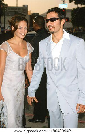 LOS ANGELES - JUN 25:  Ojani Noa, Jennifer Lopez at the