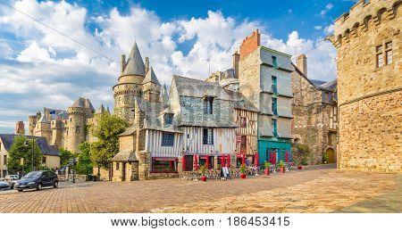 Medieval Town Of Vitre, Bretagne, France